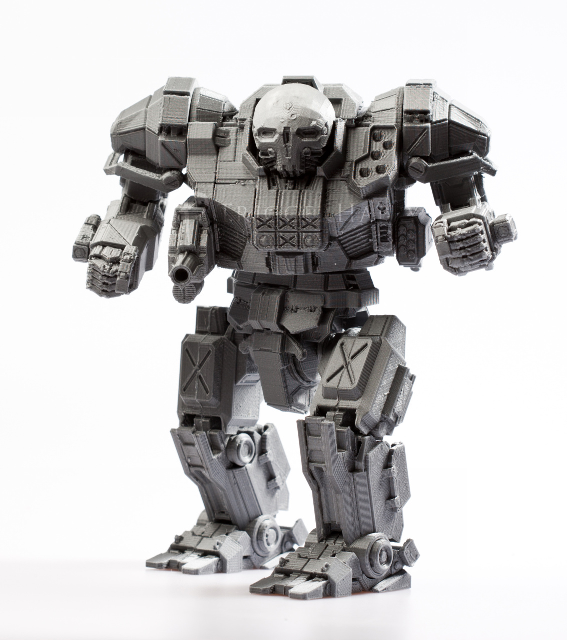 "3D Printed 6"" TALL POSABLE ATLAS (MWO Universe"