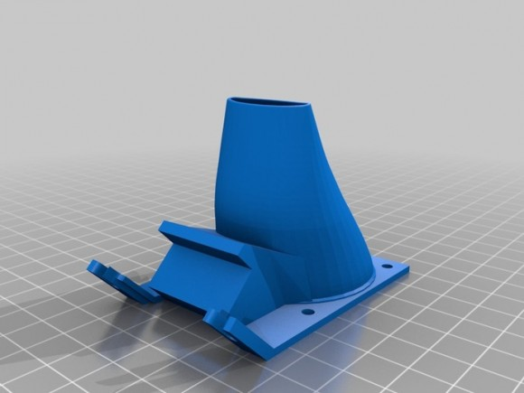 Ultimaker_Left_fan_duct_hotendv3_preview_featured