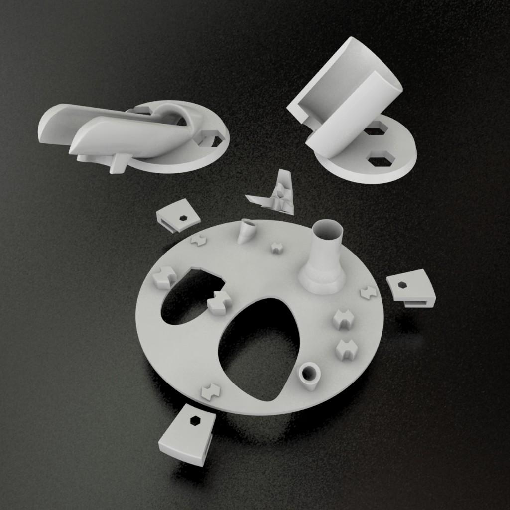 Airbrush Holder Design
