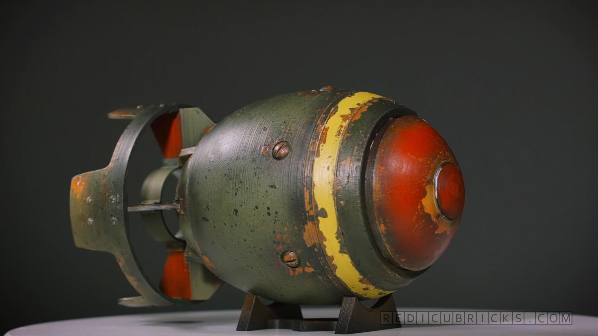 006 3D Printed Fallout Mini-Nuke Prop